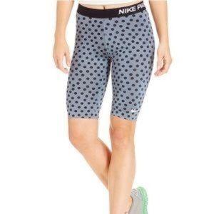 Nike Dri-fit Polk a dot biking shorts size M